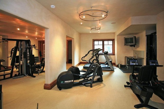 And this gym has every piece of workout equipment you might need.