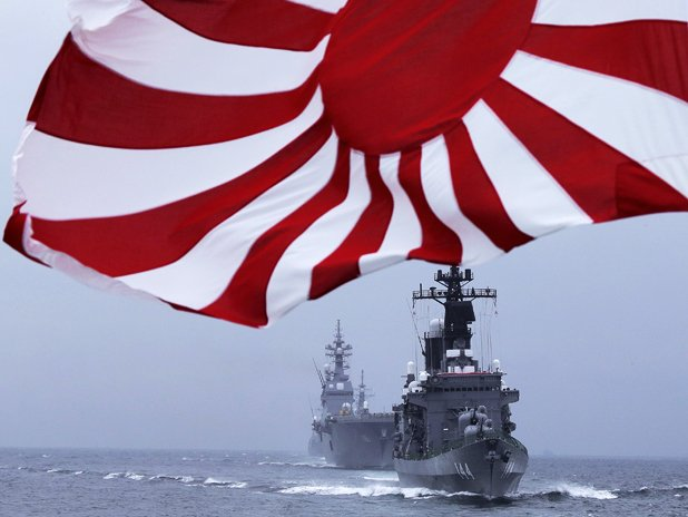 Japan will be Asia's rising naval power.