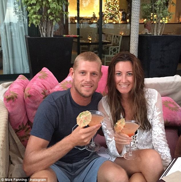 The couple got engaged in 2006 after dating for two years and were married in 2008